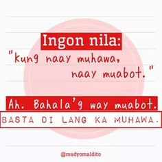 TSAR!!! Bisaya Quotes, Patama Quotes, Quotable Quotes, Tagalog Quotes Hugot Funny, Funny Qoutes, Hugot Lines, Ocean Wallpaper, Pinoy, In My Feelings