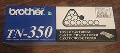 Genuine Brother TN350 OEM Black Toner Cartridge Fax 2910 2820 BRAND NEW Sealed  | eBay