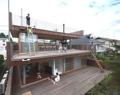 Deck House by Tezuka Architects