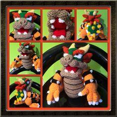 Crochet bowser