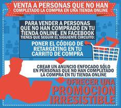como #vender a personas que aún no completan su compra en tu #tiendaonline. #ecommerce #onlinestore  http://www.rebeldesmarketingonline.com/