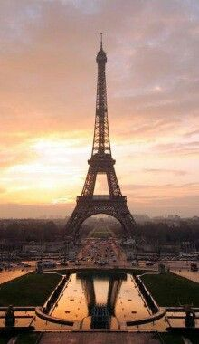 Sunset in Paris...
