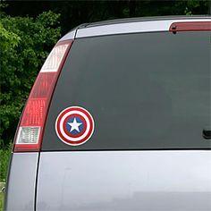 ThinkGeek :: Marvel Avengers Die Cutz Auto Decals