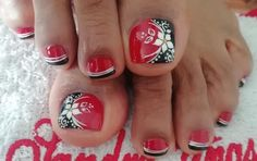 Pedicure Nail Art, Crazy Nails, Toe Nail Designs, Pedicures, Ant, Toe Nails, Pretty Nails, Nail Art, Designed Nails