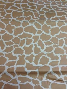 Perfectmaze Set Of 7 Animal Print Rectangle Plastic Table Covers (Inch)  (Brown Giraffe) By Perfect Maze