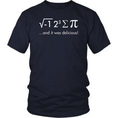 Math Geek Sport Waist Bag Fanny Pack I Ate Some Pie/¡/­ And It Was Delicious