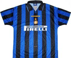 FC Internazionale Milano (Italy) - 1996/1997 Umbro Home Shirt
