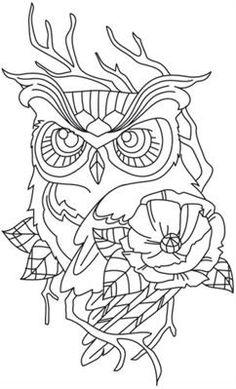 Chic Needlework - Owl_image