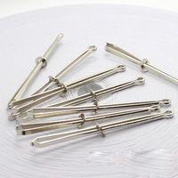 10Pcs Steel Sewing DIY tools wear elastic band Wear belt Stitch  wear elastic…
