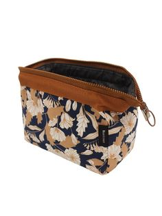 Makeup Bag/Travel Cosmetic Bags/Brush Pouch Toiletry Kit Fashion Women Jewelry Organizer with YKK Zipper Electronics Accessories Hard Drive Carry Case Portable Cube Flower Floral Purse (Brown) *** See this great product. (This is an affiliate link) Travel Cosmetic Bags, Travel Toiletries, Cosmetic Pouch, Travel Bags, Cute Makeup Bags, Makeup Bag Organization, Makeup Case, Eye Makeup, Toiletry Bag