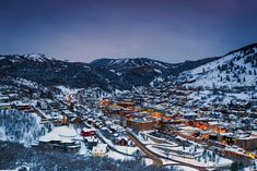 Park City, Utah offers far more than epic snow sports. Here's how to pack a week into a weekend in this small mountain town. Best Christmas Vacations, Christmas Destinations, Christmas Travel, Family Christmas, Christmas Time, Places To Travel, Places To Go, Best Ski Resorts, Snow Resorts