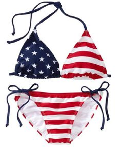 American Flag Bikini from Old Navy