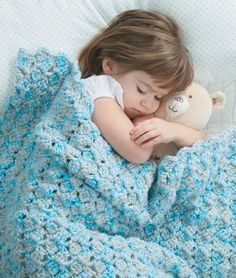 Blankets for Toddlers - Making soft wraps for toddlers couldnít be easier! Each of the 12 designs by Carole Prior in Blankets for Toddlers is rated Beginner or Easy skill level and uses a simple one-row pattern repeat. The instructions also give you a choice of using one or two strands of medium weight yarn, so you can make a lightweight blanket or a heavier one. That means you can crochet 24 different blankets from this one book ó what a super value!  12 Designs to crochet using medium ...