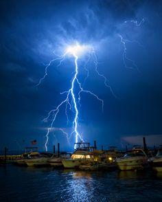 Lightning Boats by Jamie Betts Photo, via 500px