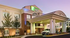 Holiday Inn Express & Suites Alexandria - Fort Belvoir Alexandria This hotel is 2 miles from downtown Alexandria and within a 12-minute drive of Fort Belvior. The hotel offers an gym and rooms with free Wi-Fi.  Holiday Inn Express Hotel & Suites Alexandria-Fort Belvior rooms include a refrigerator for snacks.