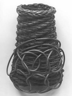 Date:      19th century  Culture:      Japan  Medium:      Bamboo  Dimensions:      H. 6 1/2 in. (16.5 cm); W. 3 3/4 in. (9.5 cm)  Classification:      Basketry  Credit Line:      Edward C. Moore Collection, Bequest of Edward C. Moore, 1891
