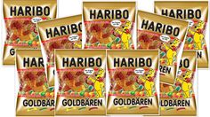 9 X Haribo Gold Bears Gummi Candy (4 Lbs) **Made In Germany** Best Price