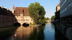 Vista sul fiume Pegnitz