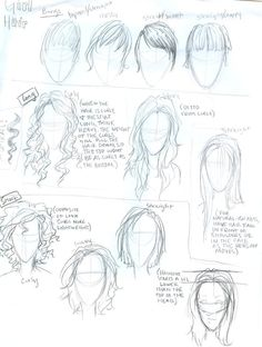 Drawing On Creativity Hair tutorial by *burdge-bug on deviantART - Burdge Bug, Girl Face Drawing, Creation Art, How To Draw Hair, Drawing Reference, Drawing Tips, Drawing Stuff, Drawing People, Art Techniques
