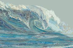Mylan's Wave, 2012 by artist Matt Cusick. He cuts up and pastes together maps to create his masterpieces. So cool!
