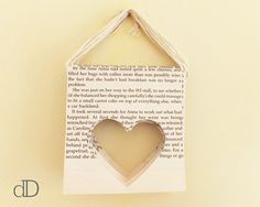 Heart bunting at https://www.etsy.com/uk/listing/219256456/book-page-heart-bunting