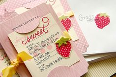 Homespun with Heart: A berry sweet party.