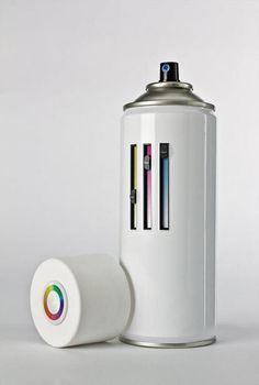 creative spray paint