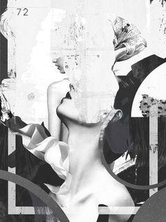 Black and white artwork by Raphael Vicenzi.