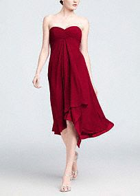 Davids Bridal Bridesmaid Dresses Strapless Chiffon Dress Adds Everyday ideas-we-picked-for-our-wedding Davids Bridal Bridesmaid Dresses, Junior Bridesmaid Dresses, Junior Dresses, Plum Bridesmaid, Wedding Dresses, Party Dresses, Wedding Bridesmaids, Wedding Outfits, Wedding Attire