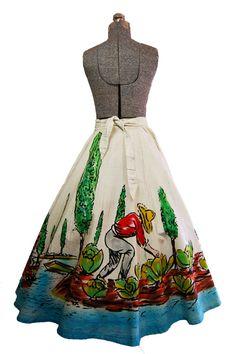 The perfect vintage hostess skirt ($85, Etsy)