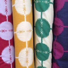 Cotton & Flax- more fun fabric from the LA Fashion District