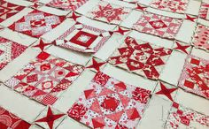 She says it's insane. I believe her.  (photo only) #quilts #quilting #blocks