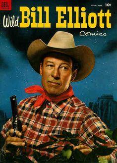 Wild Bill Elliott - April-June, 1954 - Dell Comics