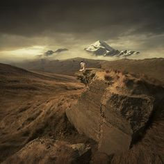 """Parallel Worlds by Michał Karcz aka """"Karezoid"""" 
