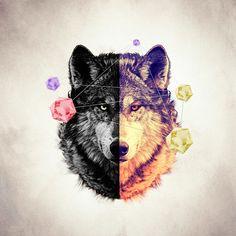 Wolf Art Design on Behance