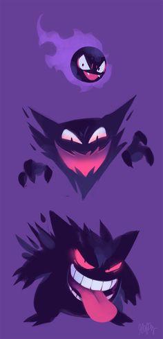 "gigidigi: "" gengar is my favorite pokemon """
