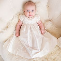 Baby Girl Christening Dress - Penelope Christening/Baptism Collection - Designer Gowns & Dresses