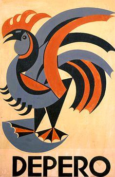 rooster : fortunato depero