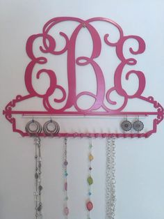 Monogram Jewelry Holder by atmiles on Etsy, $65.00