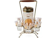 Vintage Cocktail Set, 8 Pcs. on OneKingsLane.com