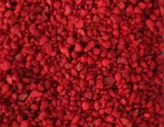 """Amazon.com : Safe & Non-Toxic {Small Size, 0.12"""" to 0.25"""" Inch} 5 Pound Bag of """"Acrylic Coated"""" Gravel & Pebbles Decor for Freshwater Aquarium w/ Bold Vibrant Smooth Edgy Modern Ruby Inspired Style [Red] : Pet Supplies"""