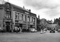 The old Bishop's Store in Falkirk which was in Kerse Lane at the foot of Manor Street