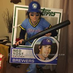 Ned Yost Bunting Card