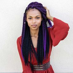 Looking for a protective style that looks good, is easily customized, and is sassy as hell? You need to see these 31 stunning crochet twist hairstyles! Crochet Twist Hairstyles, Mixed Girl Hairstyles, Spring Hairstyles, Black Girls Hairstyles, Braided Hairstyles, Fun Hairstyles, Purple Box Braids, Black Box Braids, Crochet Braid Styles