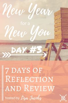 "I'm participating in Lisa Jacobs' ""New Year for a New You"" series for the next seven days. I'm excited to review my progress from 2016 and plan forward to have my best year yet! Won't you join me?"