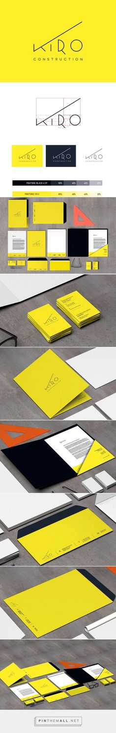 KIRO Construction Corp. Branding on Behance | Fivestar Branding – Design and Branding Agency & Inspiration Gallery