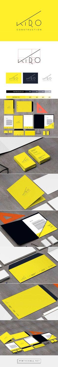 KIRO Construction Corp. Branding on Behance | Fivestar Branding – Design and Branding Agency & Inspiration Gallery