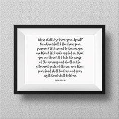 Hand letter, bible v
