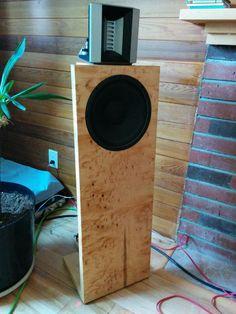 Image Open Baffle Speakers, Wooden Speakers, Diy Speakers, Madding Crowd, High End Audio, Loudspeaker, Audiophile, Inspire, School
