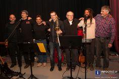 """'""""Fritz Marx meets ZOSH'n Blues"""". Das Zentral Orchester der Südsteirischen Hagelabwehr, der Künstlergruppe aus St. Nikolai im Sausal, hatte einen außertourlichen Auftritt im Tanz und Theater Zentrum Graz (TTZ) in der Viktor Franz Straße in Graz mit dem Titel """"So is ba uns"""".   """"#Fritz #Marx #meets #ZOSH'n #Blues"""" """"#Zentral #Orchester der #Südsteirischen #Hagelabwehr"""" """"#Künstlergruppe aus #St. #Nikolai im #Sausal"""" """"#Tanz und #Theater #Zentrum #Graz"""" #TTZ """"#Viktor #Franz #Straße"""" """"#So #is #ba…"""